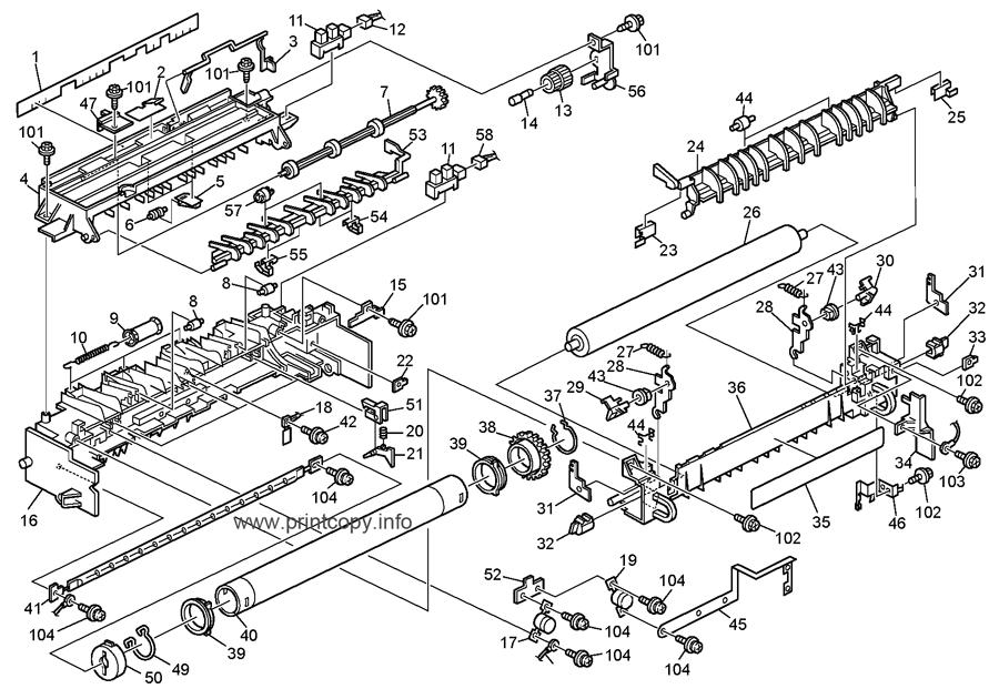Parts Catalog > Ricoh > Aficio MP161 > page 16