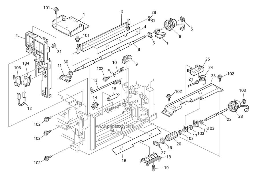 Parts Catalog > Ricoh > Aficio MP171 > page 5
