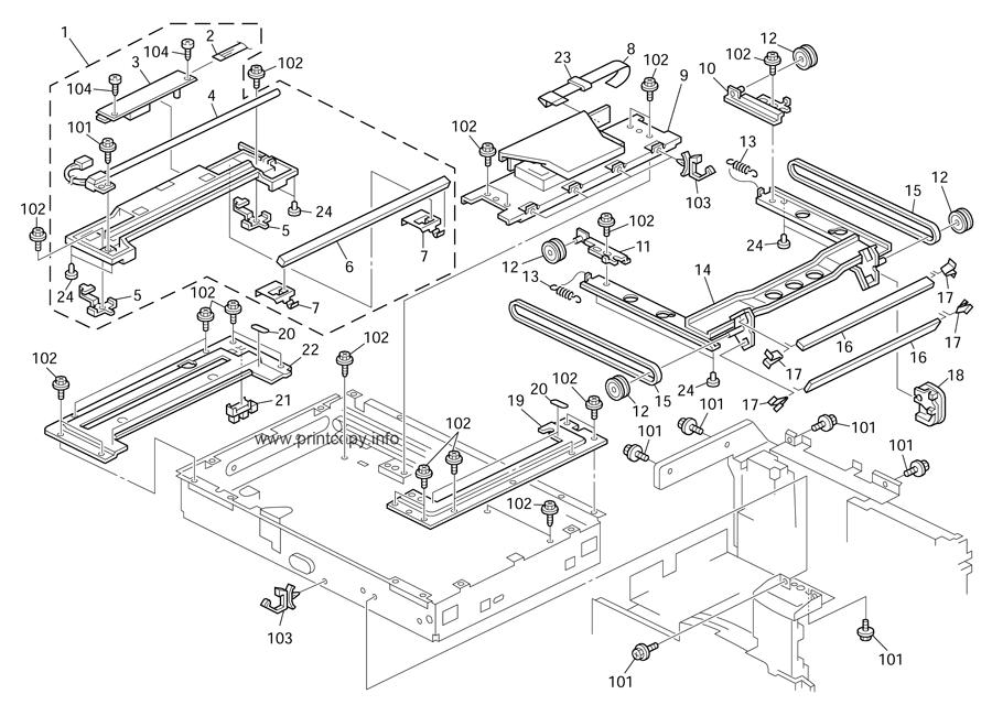 Parts Catalog > Ricoh > MP171 > page 13