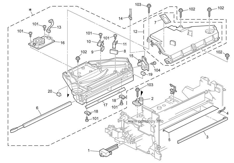 Parts Catalog > Ricoh > MP1900 > page 6