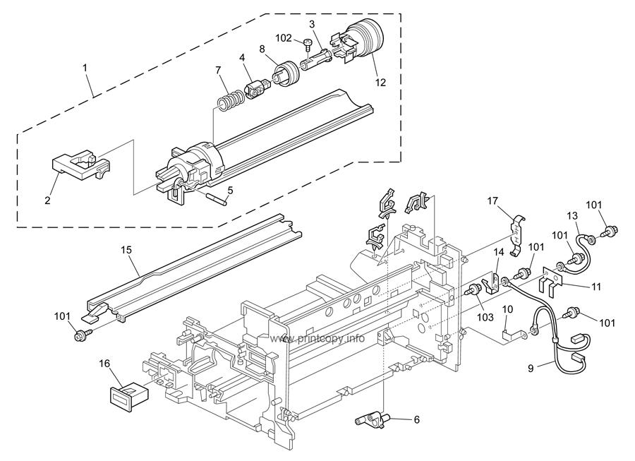 Parts Catalog > Ricoh > MP1900 > page 14