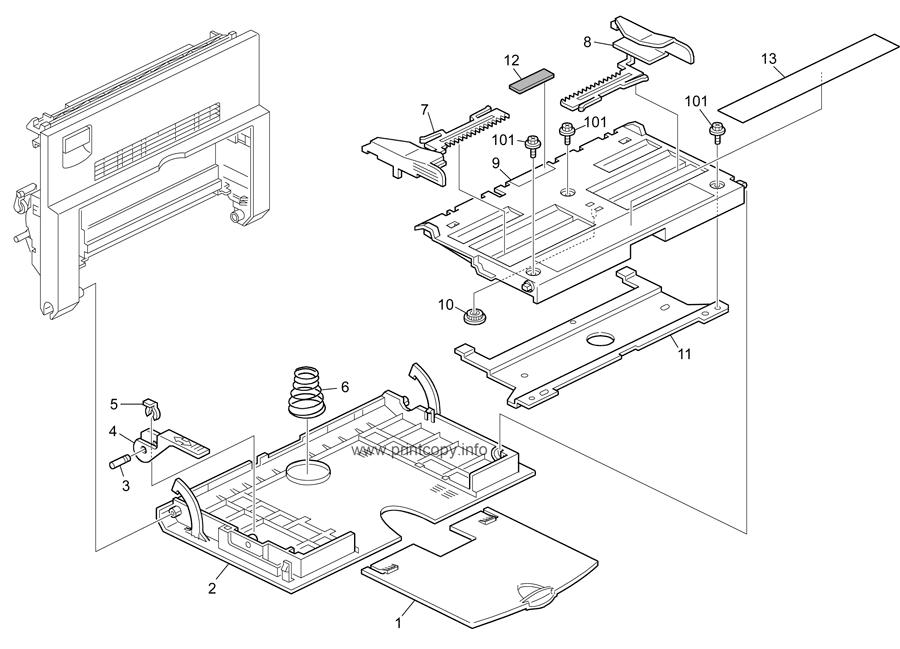 Parts Catalog > Ricoh > D116 201SPF S-C4.5 > page 4