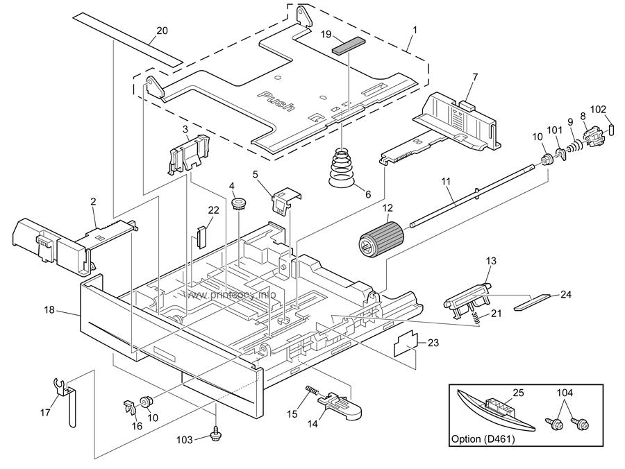 Parts Catalog > Ricoh > MP201SPF > page 7