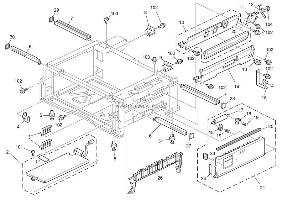 Parts Catalog > Ricoh > MP2510 > page 10