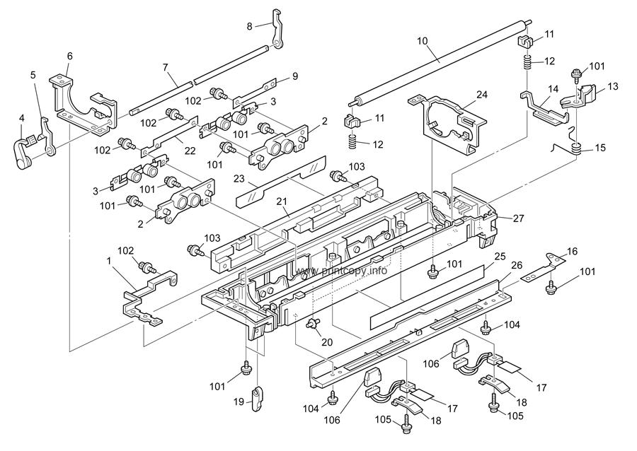 Parts Catalog > Ricoh > Aficio 3030 > page 18