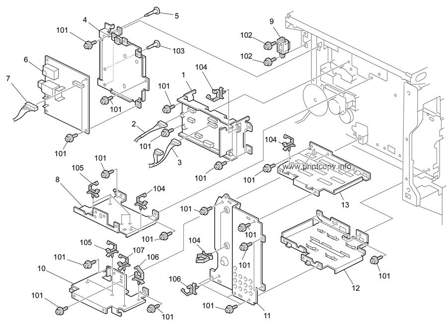 Parts Catalog > Ricoh > MP2550 > page 23