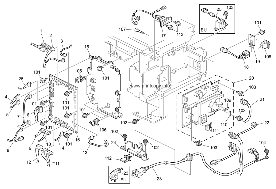 Parts Catalog > Ricoh > MP2550 > page 24