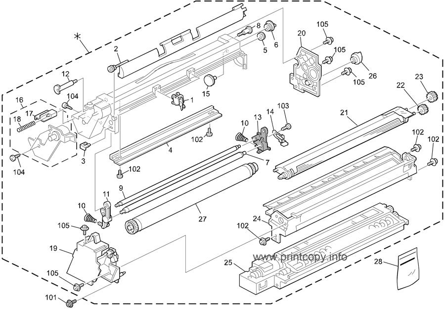 Parts Catalog > Ricoh > Aficio MP3053 > page 15