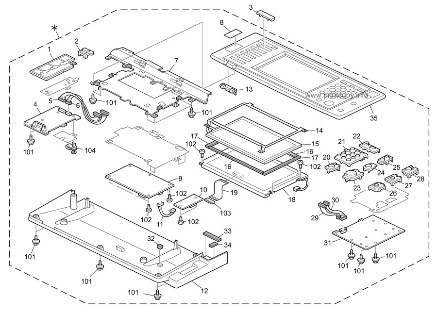 Parts Catalog > Ricoh > MP2851 > page 3
