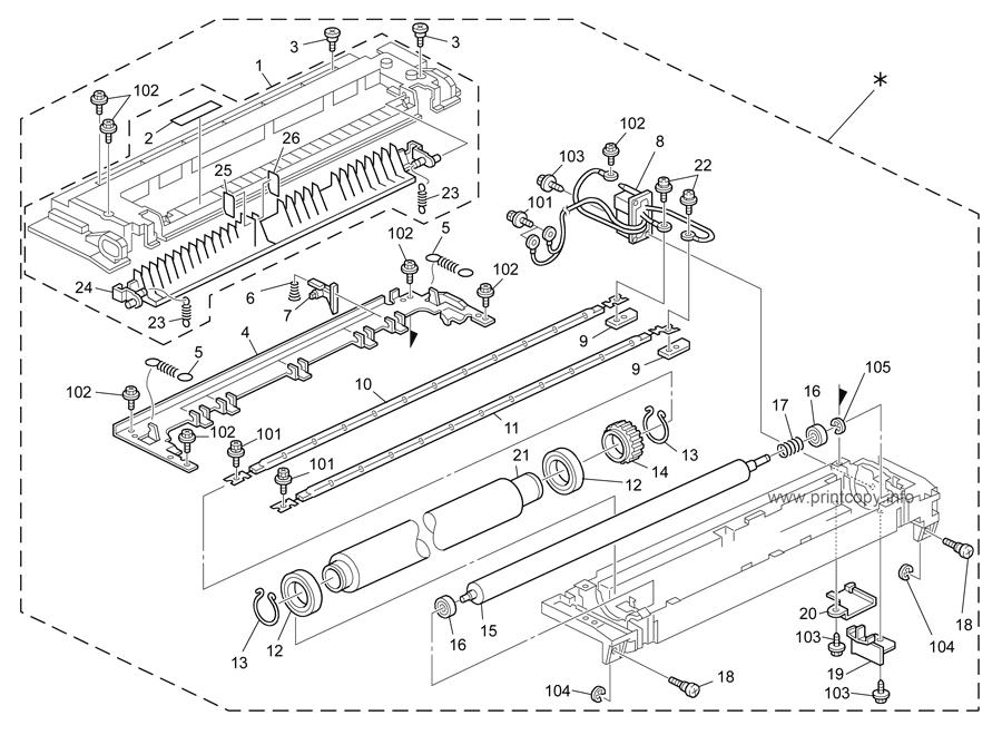 Parts Catalog > Ricoh > MP3351 > page 16