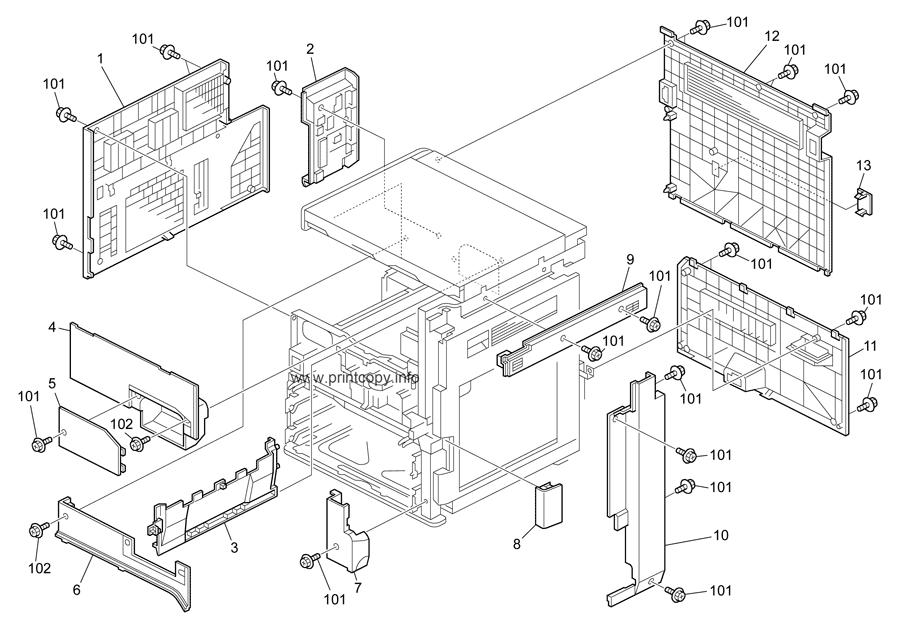 Parts Catalog > Ricoh > MP2852 > page 3