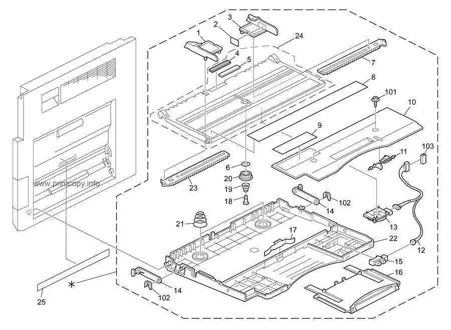Parts Catalog > Ricoh > Aficio MP2852 > page 12