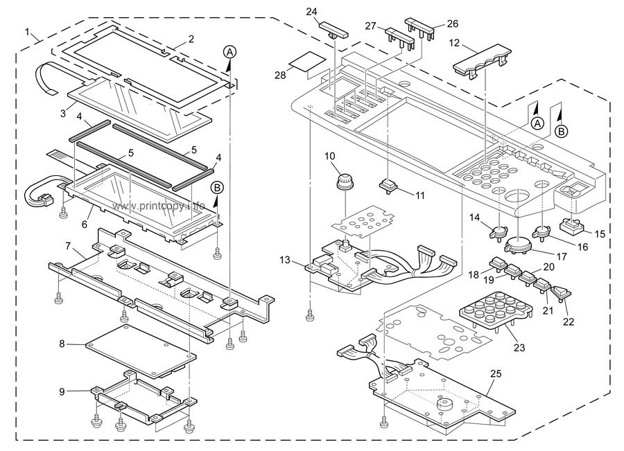 Parts Catalog > Ricoh > MP4500G > page 4