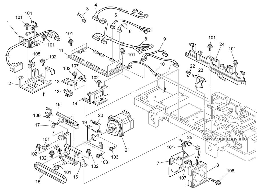 Parts Catalog > Ricoh > MP5000 > page 13