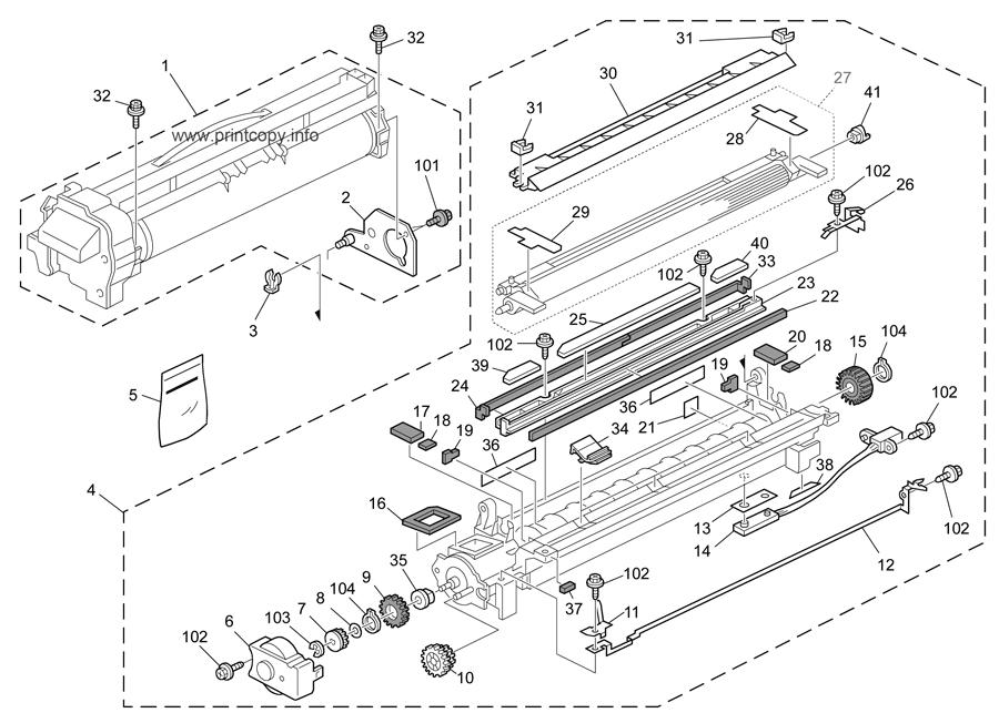 Parts Catalog > Ricoh > Aficio MP4001 > page 26
