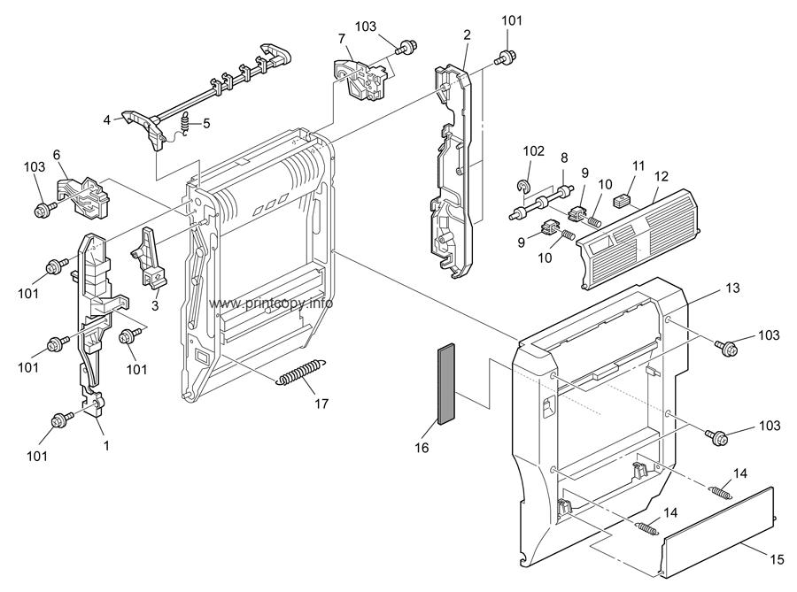 Parts Catalog > Ricoh > Aficio MP5000 > page 33