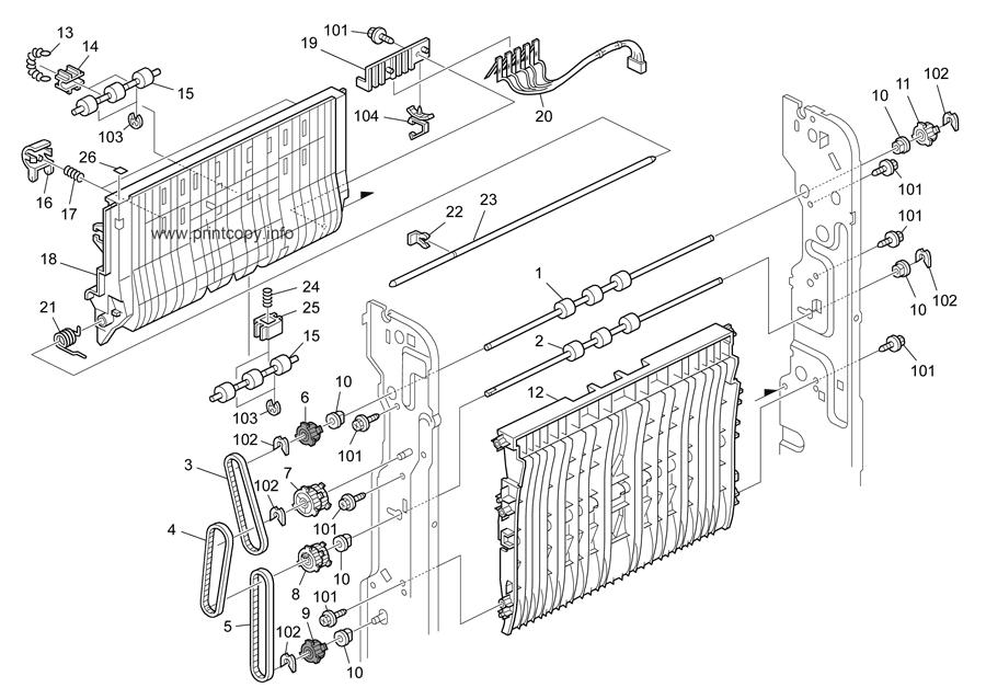Parts Catalog > Ricoh > MP5000 > page 36