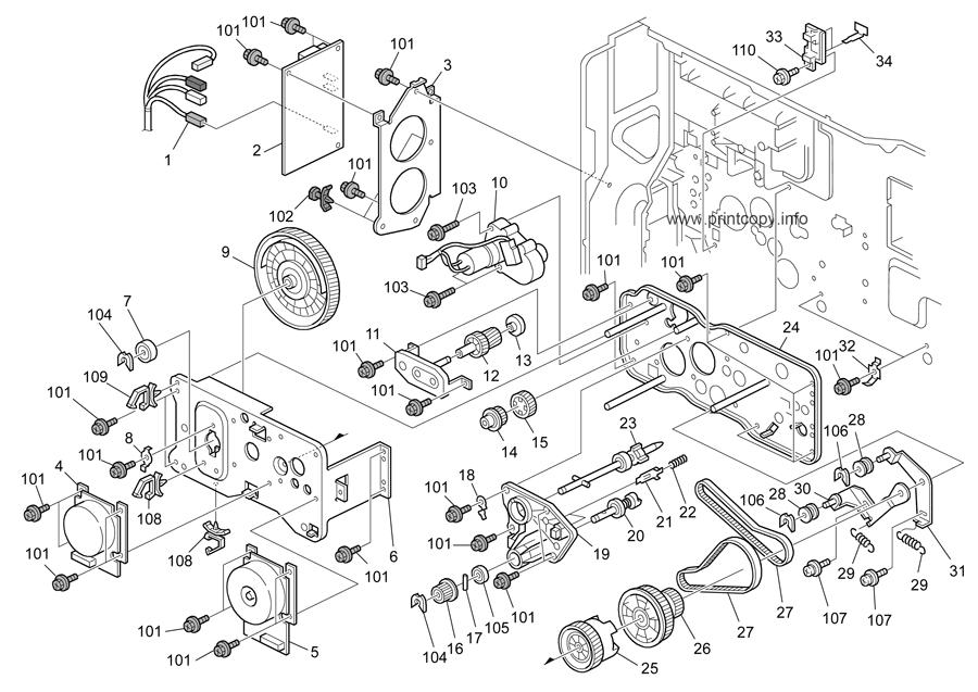 Parts Catalog > Ricoh > MP5000 > page 41
