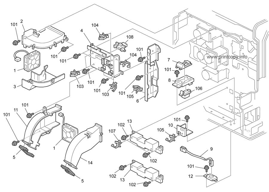 Parts Catalog > Ricoh > Aficio MP5000 > page 46