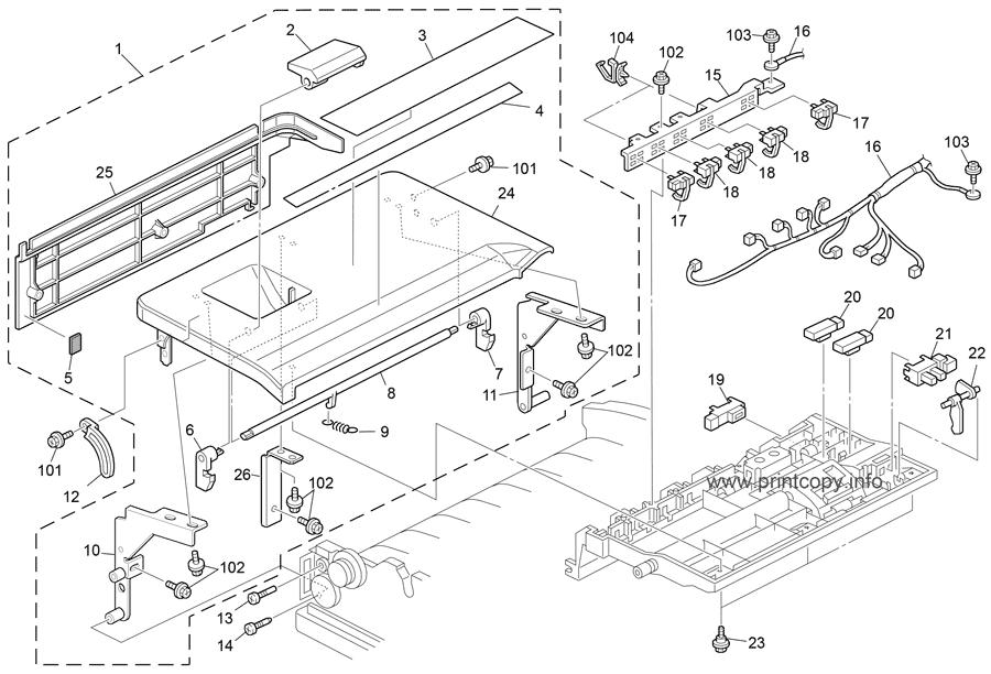Parts Catalog > Ricoh > Aficio MP4002 > page 6