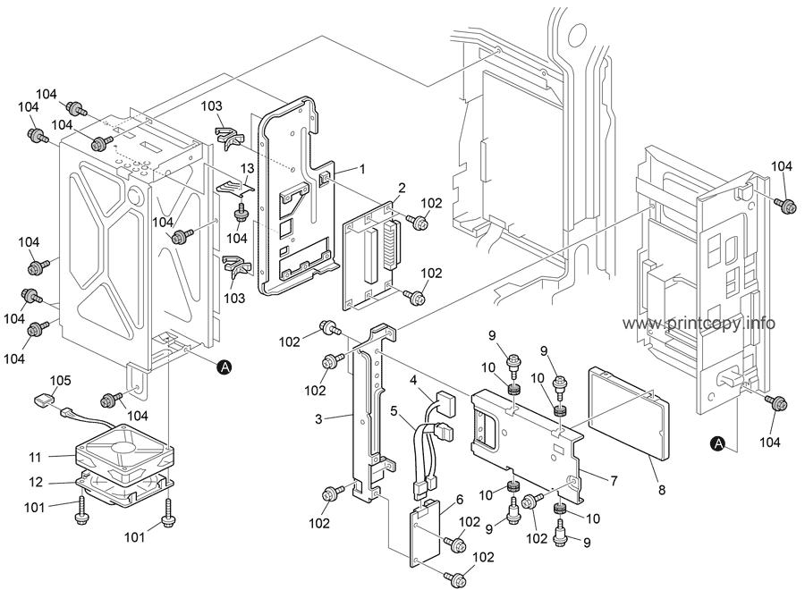 Parts Catalog > Ricoh > MP4002 > page 50