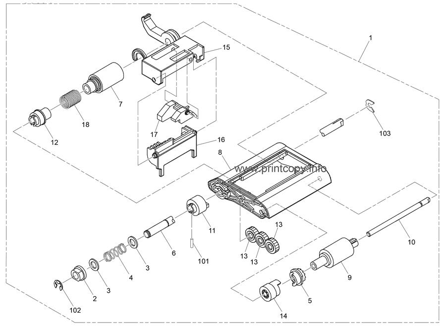 Parts Catalog > Ricoh > SP4510SF > page 3