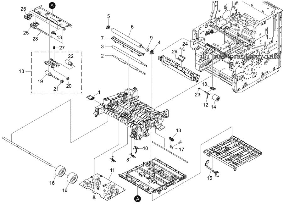 Parts Catalog > Ricoh > SP5300DN > page 4
