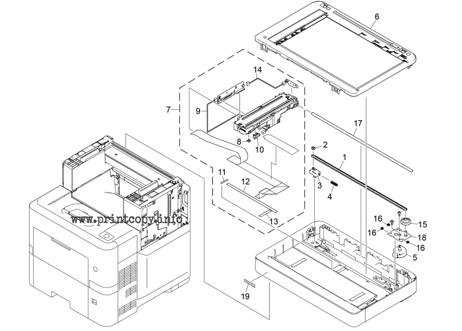 Parts Catalog > Ricoh > MP501SPF > page 9