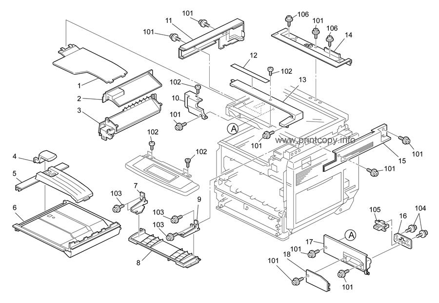 Parts Catalog > Ricoh > B230 MPC2500 AT-C10 > page 2