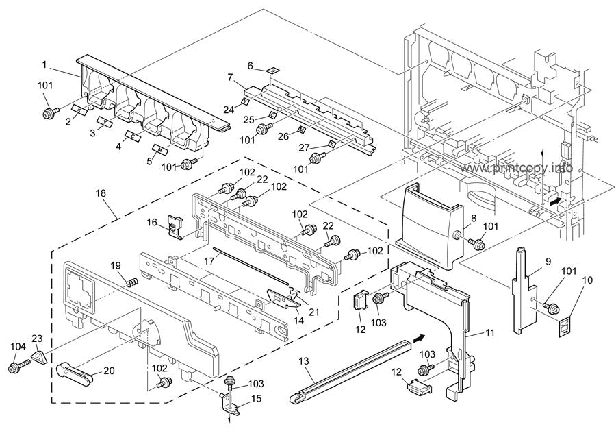 Parts Catalog > Ricoh > B230 MPC2500 AT-C10 > page 3