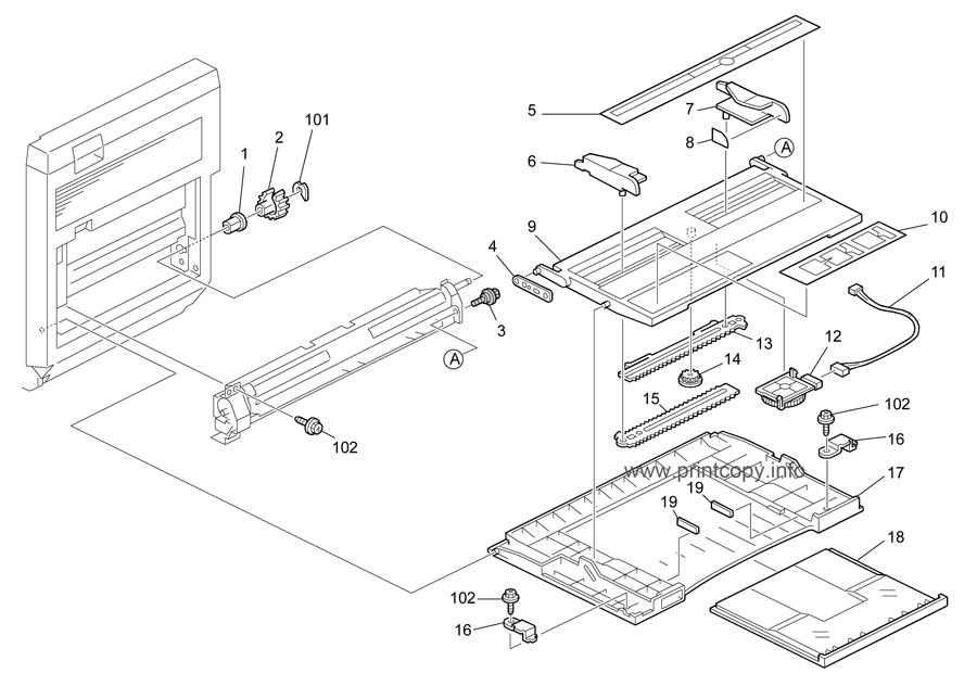 Parts Catalog > Ricoh > MPC2500 > page 14