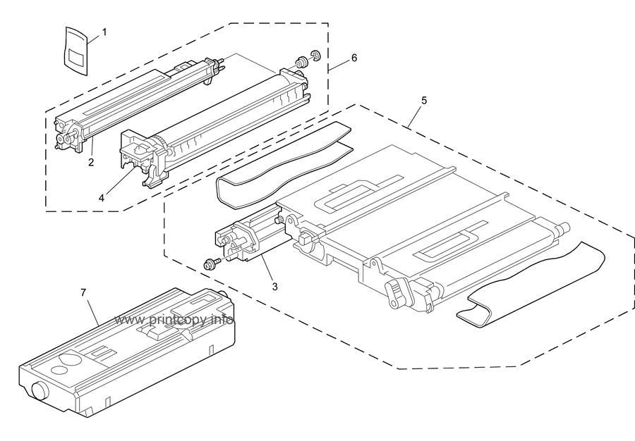 Parts Catalog > Ricoh > Aficio MPC3000 > page 19