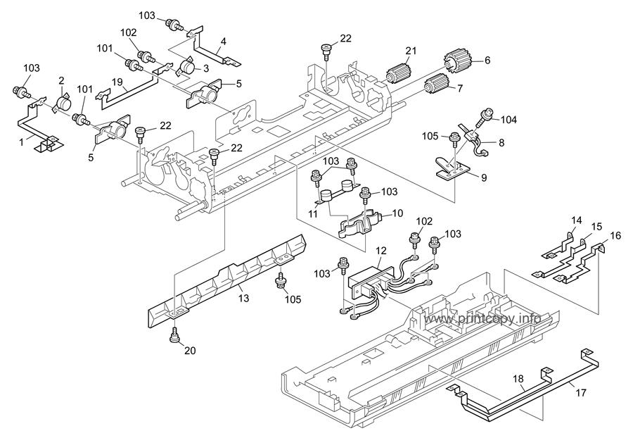Parts Catalog > Ricoh > Aficio MPC2000 > page 22