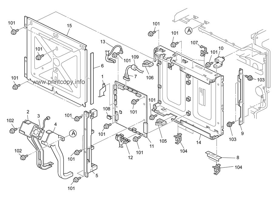 Parts Catalog > Ricoh > Aficio MPC3000 > page 26