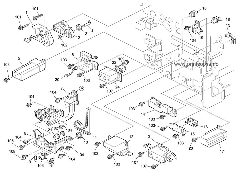 Parts Catalog > Ricoh > MPC3000 > page 30