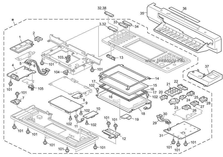Parts Catalog > Ricoh > MPC3500 > page 4