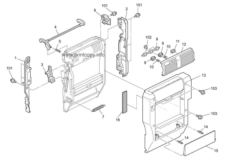 Parts Catalog > Ricoh > MPC4500 > page 34