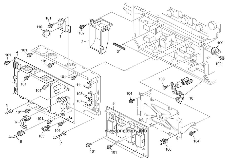Parts Catalog > Ricoh > B224 MPC4500 AP-C1 > page 41