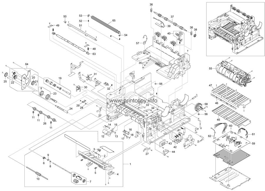 Parts Catalog > Ricoh > SP3200SF > page 6