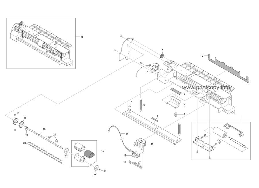 Parts Catalog > Ricoh > SP3200SF > page 9