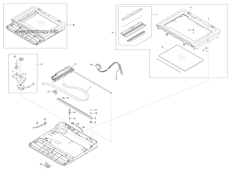 Parts Catalog > Ricoh > SP3200SF > page 11
