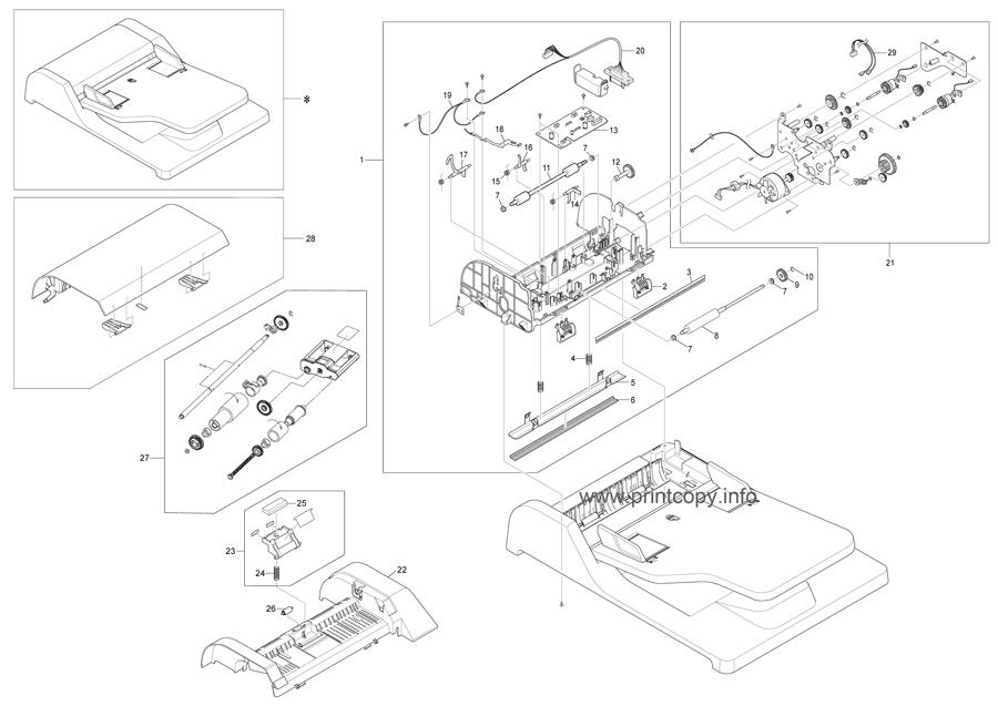 Parts Catalog > Ricoh > SP3200SF > page 13