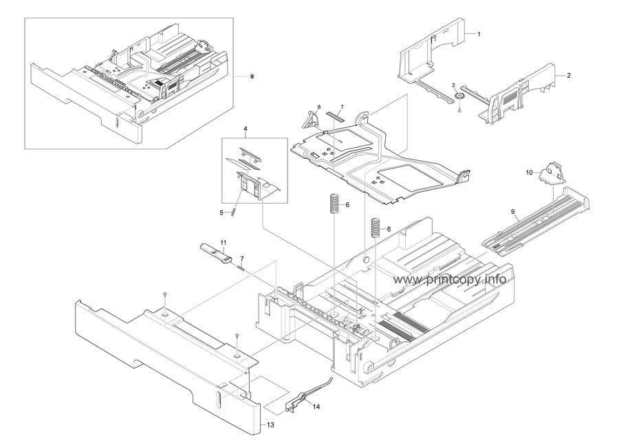 Parts Catalog > Ricoh > SP3200SF > page 15
