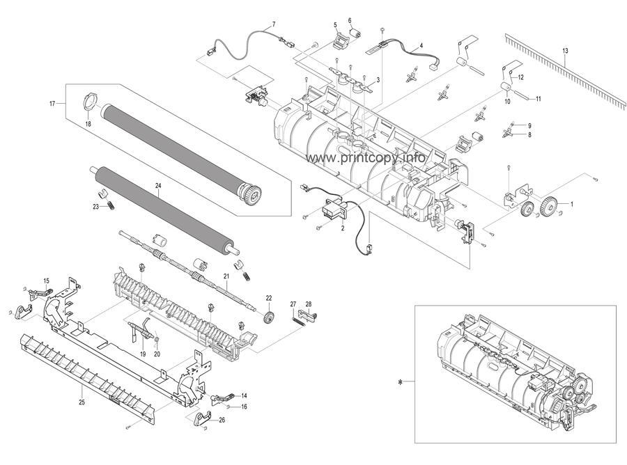 Parts Catalog > Ricoh > SP3200SF > page 16