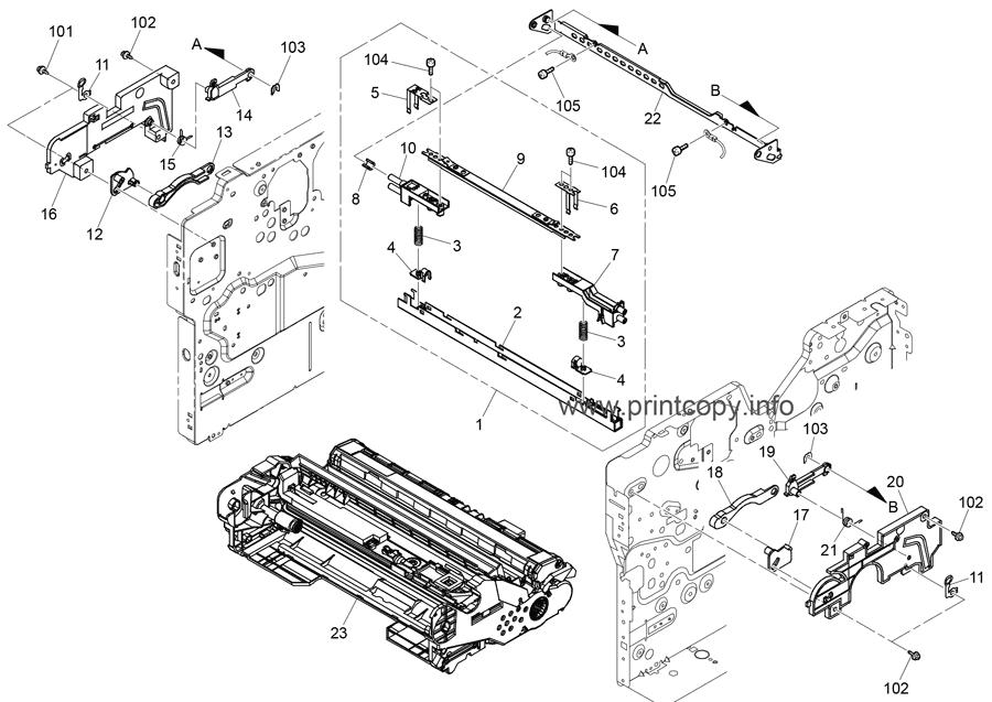 Parts Catalog > Ricoh > SP4520DN > page 5