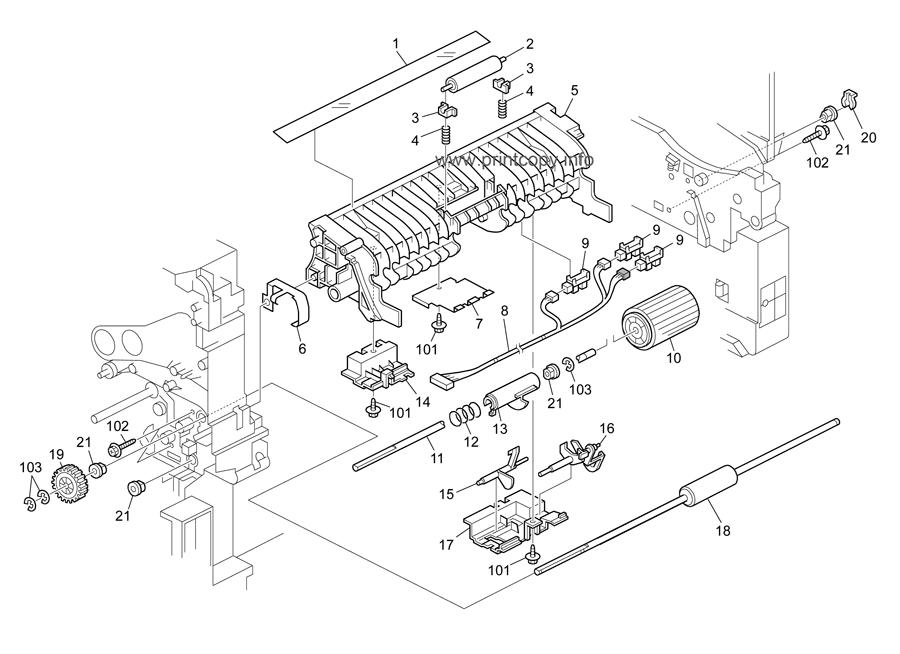 Parts Catalog > Ricoh > Aficio SP5210SR > page 20