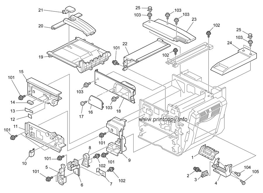 Parts Catalog > Ricoh > SP8200DN > page 2