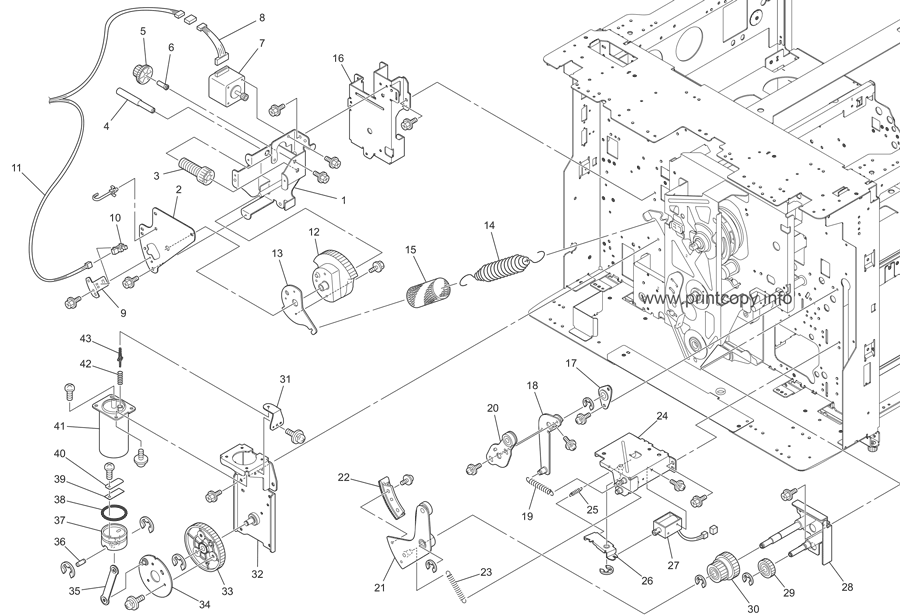 Parts Catalog > Riso > RZ9 Series > page 6