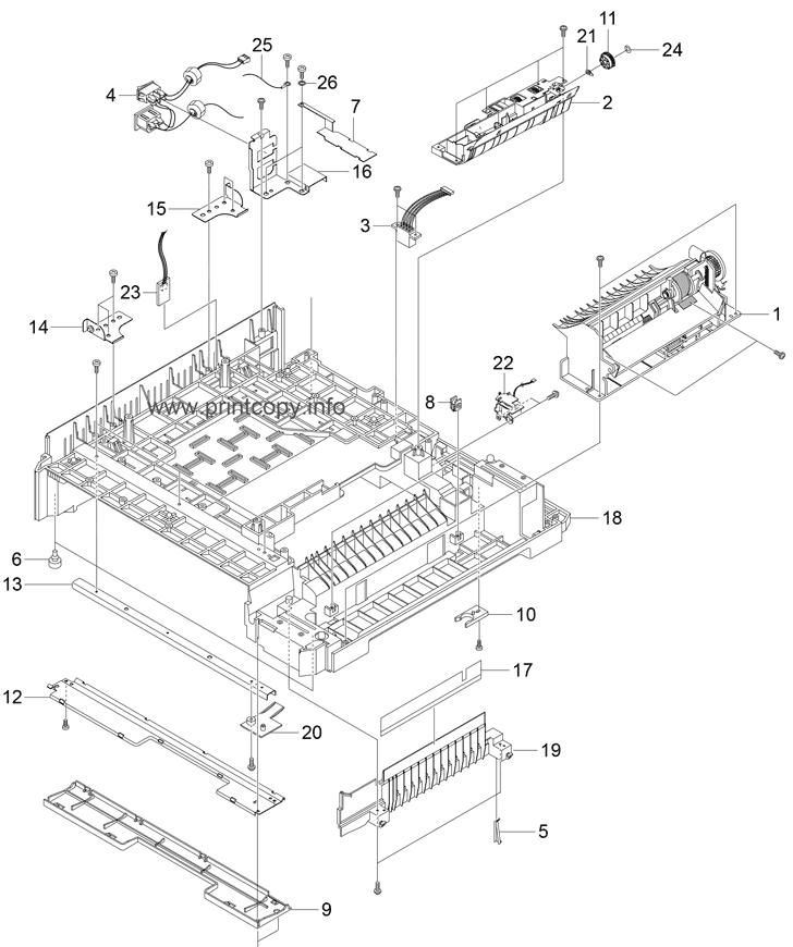 Parts Catalog > Samsung > CLP500 > page 16