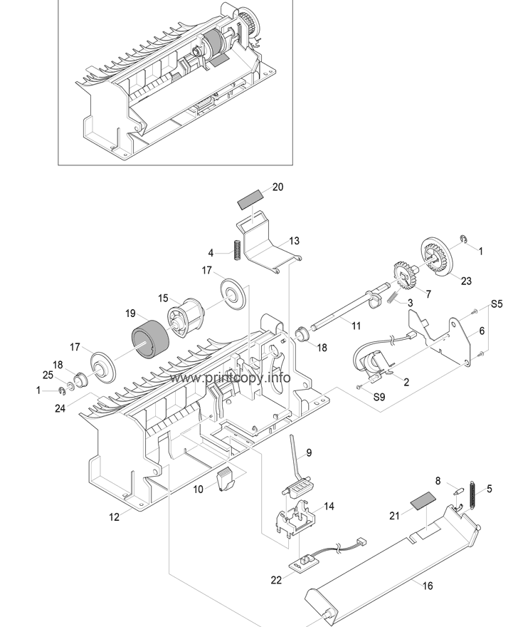 Parts Catalog > Samsung > CLP550 > page 17